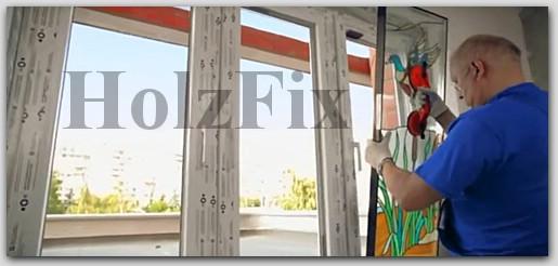 Установка стеклопакета для металлопластиковых окон